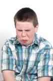 αγόρι λυπημένο Στοκ φωτογραφία με δικαίωμα ελεύθερης χρήσης