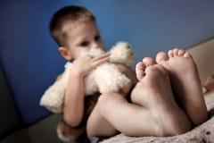 αγόρι λυπημένο Στοκ φωτογραφίες με δικαίωμα ελεύθερης χρήσης