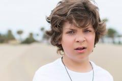 Αγόρι με τα πράσινα μάτια Στοκ Εικόνα
