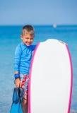 Αγόρι με την κυματωγή Στοκ εικόνες με δικαίωμα ελεύθερης χρήσης