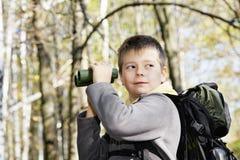 Αγόρι με τις διόπτρες Στοκ εικόνες με δικαίωμα ελεύθερης χρήσης