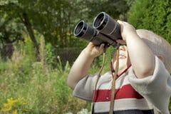 Αγόρι με τις διόπτρες Στοκ Εικόνες