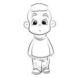 Αγόρι με το mohawk Στοκ εικόνα με δικαίωμα ελεύθερης χρήσης