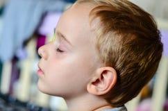 Αγόρι με Eyepatch Στοκ Εικόνες