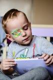 Αγόρι με Eyepatch στοκ φωτογραφίες με δικαίωμα ελεύθερης χρήσης