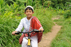 αγόρι μουσουλμάνος στοκ φωτογραφίες