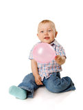 αγόρι μπαλονιών Στοκ εικόνες με δικαίωμα ελεύθερης χρήσης