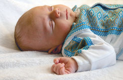 αγόρι νεογέννητο Στοκ εικόνα με δικαίωμα ελεύθερης χρήσης