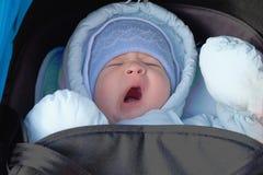 αγόρι νεογέννητο Στοκ Εικόνες