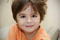 αγόρι νυσταλέο Στοκ Εικόνες