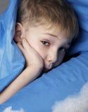 αγόρι νυσταλέο Στοκ εικόνα με δικαίωμα ελεύθερης χρήσης