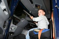 Αγόρι - οδηγός Στοκ εικόνα με δικαίωμα ελεύθερης χρήσης