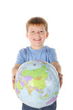 αγόρι πέντε έτη στοκ φωτογραφία