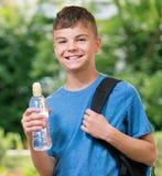 Αγόρι πίσω στο σχολείο Στοκ εικόνες με δικαίωμα ελεύθερης χρήσης