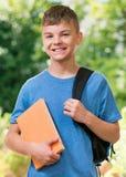 Αγόρι πίσω στο σχολείο Στοκ φωτογραφίες με δικαίωμα ελεύθερης χρήσης