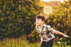 Αγόρι παιδιών του εξάχρονου παιδιού Στοκ Εικόνα