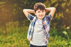 Αγόρι παιδιών του εξάχρονου παιδιού Στοκ φωτογραφίες με δικαίωμα ελεύθερης χρήσης
