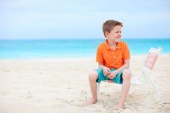 αγόρι παραλιών χαριτωμένο λίγα στοκ φωτογραφίες με δικαίωμα ελεύθερης χρήσης