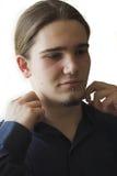 αγόρι περίεργο Στοκ φωτογραφία με δικαίωμα ελεύθερης χρήσης