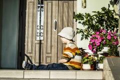 Αγόρι που βλάπτεται Στοκ Φωτογραφία