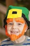 Αγόρι που μοιάζει με ένα Leprechaun Στοκ εικόνα με δικαίωμα ελεύθερης χρήσης