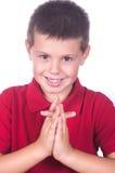 Αγόρι που προσεύχεται 3 Στοκ Εικόνα