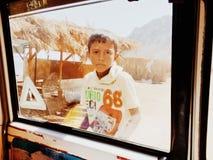 Αγόρι στην Αίγυπτο Στοκ φωτογραφίες με δικαίωμα ελεύθερης χρήσης