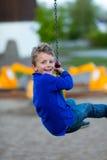 Αγόρι στην πετώντας αλεπού Στοκ φωτογραφία με δικαίωμα ελεύθερης χρήσης