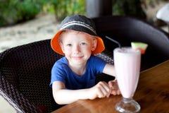 Αγόρι στις διακοπές Στοκ Φωτογραφία