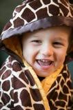 Αγόρι στο κάλυμμα Στοκ εικόνες με δικαίωμα ελεύθερης χρήσης