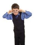 Αγόρι στο κοστούμι Στοκ Φωτογραφίες