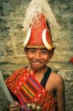 Αγόρι στο φεστιβάλ στην Ινδία Στοκ εικόνα με δικαίωμα ελεύθερης χρήσης