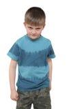 αγόρι συνοφρύωμ Στοκ φωτογραφία με δικαίωμα ελεύθερης χρήσης