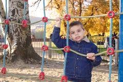 αγόρι χαριτωμένο λίγη παιδ&io Στοκ Εικόνα