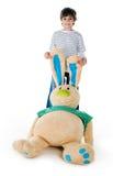 αγόρι χαριτωμένο λίγο κο&upsilo Στοκ Εικόνες