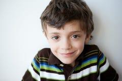 αγόρι χαριτωμένο λίγο πορτρέτο Στοκ Φωτογραφίες