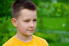 αγόρι στοκ φωτογραφία