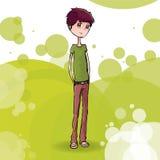 Αγόρι απεικόνιση αποθεμάτων