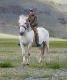 αγόρι kazakh στοκ φωτογραφία