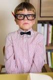 Αγόρι Nerdy Στοκ φωτογραφία με δικαίωμα ελεύθερης χρήσης