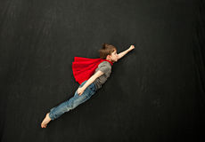 Αγόρι Superhero Στοκ φωτογραφία με δικαίωμα ελεύθερης χρήσης