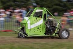 Αγώνας αυτοκινήτων πίθηκων Στοκ εικόνες με δικαίωμα ελεύθερης χρήσης