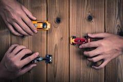αγώνας αυτοκινήτων Στοκ Εικόνα