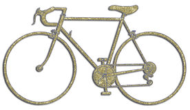 αγώνας ποδηλάτων Στοκ εικόνα με δικαίωμα ελεύθερης χρήσης