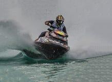 Αγώνας πρωταθλήματος ανταγωνισμού Aquabike Στοκ φωτογραφίες με δικαίωμα ελεύθερης χρήσης