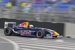 αγώνας φυλών Grand Prix αυτοκινήτων Στοκ Εικόνες