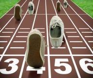 αγώνες έννοιας ολυμπιακοί Στοκ εικόνα με δικαίωμα ελεύθερης χρήσης