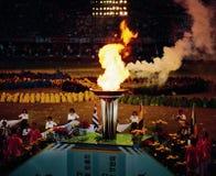 αγώνες ολυμπιακοί Στοκ Εικόνα