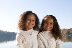 αδελφές δύο Στοκ φωτογραφία με δικαίωμα ελεύθερης χρήσης