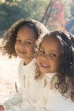 αδελφές δύο Στοκ εικόνα με δικαίωμα ελεύθερης χρήσης
